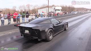1300 HP F1-X ProCharged Corvette is Downright ANGRY