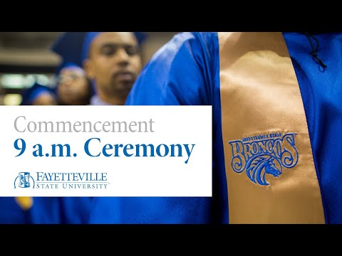 Fayetteville State University Graduation Program #1
