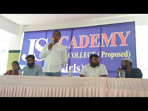 Workshop on NEET, How to Prepare NEET in 45 days JS Academy Junior College, (Girls)BPC/MPC/with NEET
