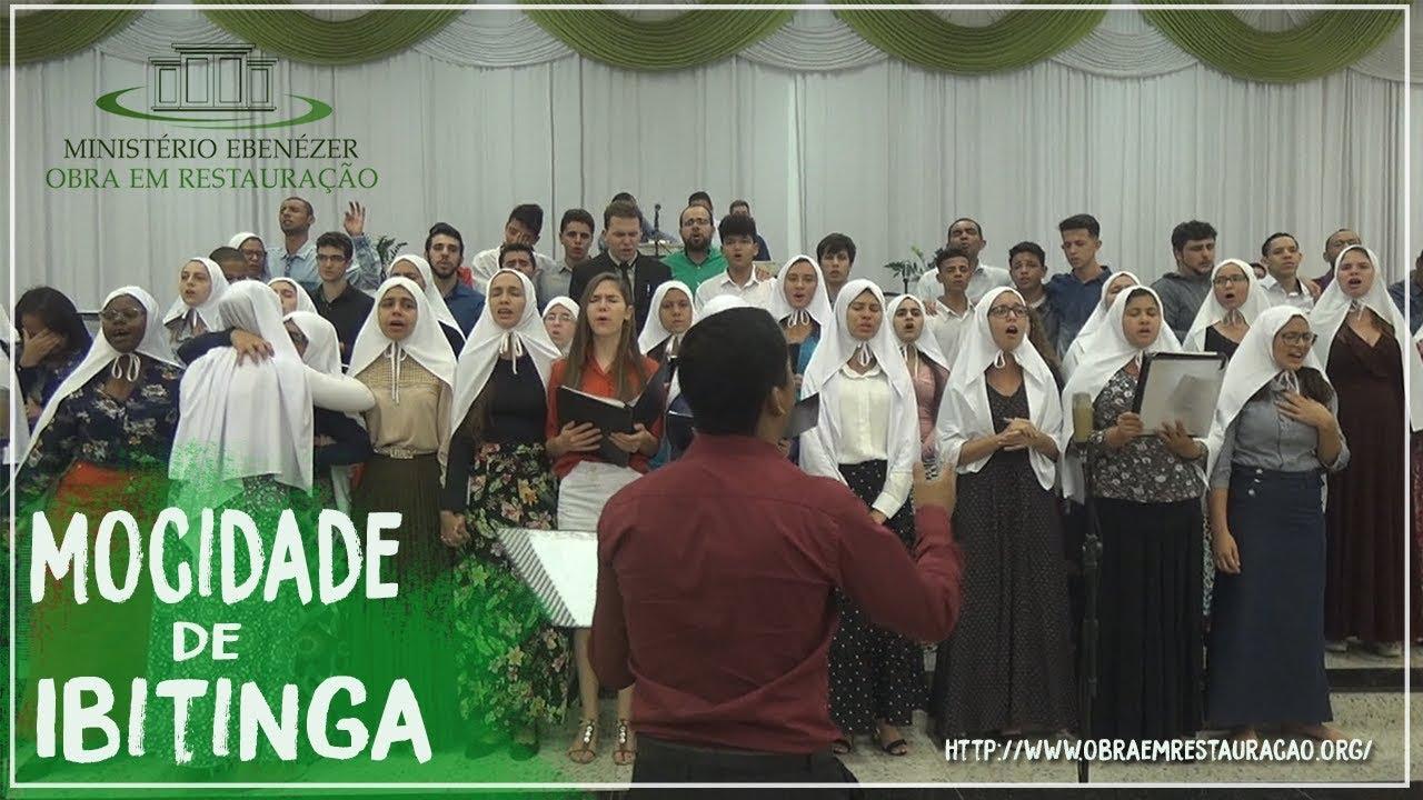 A Ditosa Cidade: Mocidade de Ibitinga. Culto de domingo 29/07/2018