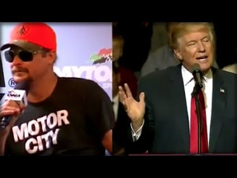 AMERICAN BADASS: WHEN TRUMP SEES WHAT KID ROCK IS ABOUT TO DO, HE'LL BE JUMPING FOR JOY!