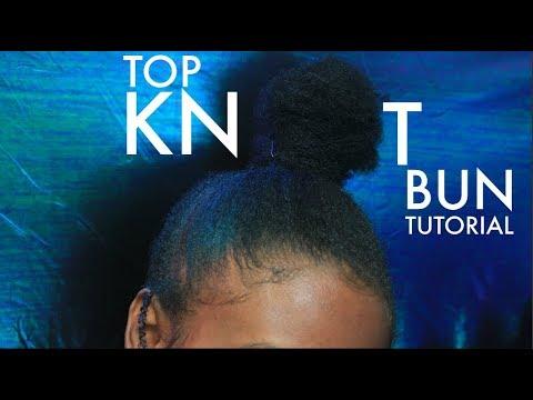 HAIR CHAT GRWM   Top Knot Bun Tutorial + speaking on VIBES/ENERGY