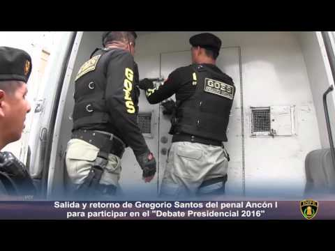 Así fue el traslado de Gregorio Santos desde el penal Ancón I