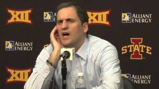 Video CFTV: Steve Prohm postgame after ISU beat Kansas 85-72 download MP3, 3GP, MP4, WEBM, AVI, FLV Oktober 2018