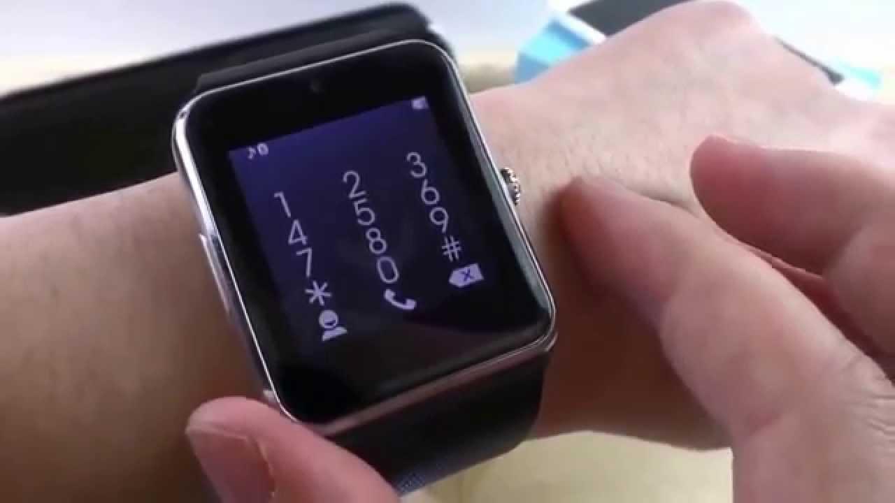 обзор смарт часов dz09 c aliexpress - YouTube