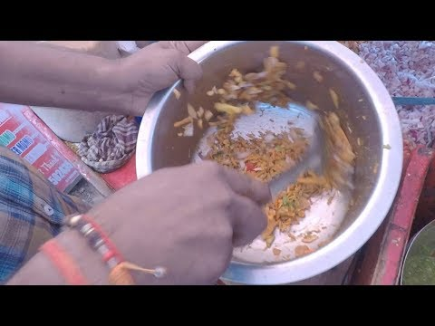 SPICY MOONG DAL &  MIXTURE CHAAT | South Indian SPECIAL CHAAT | INDIAN STREET FOOD |