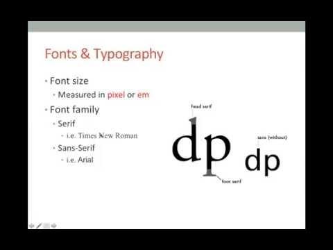 Principles of Web Design