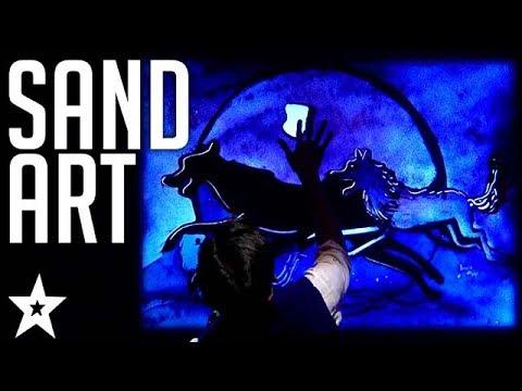 The Jungle Book | Sand Art on India's Got Talent | Got Talent Global