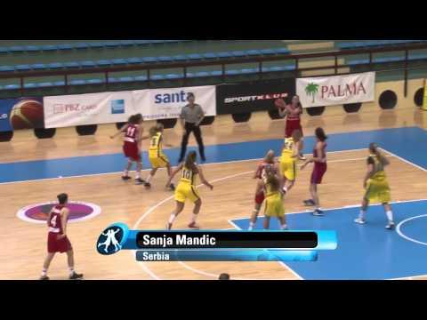 Video :  Άννα Σταμολάμπρου και Πηνελόπη Παυλοπούλου | ...στις κορυφαίες στιγμές της αγωνιστικής δράσης της 17.08.2013, U18 Women 2013