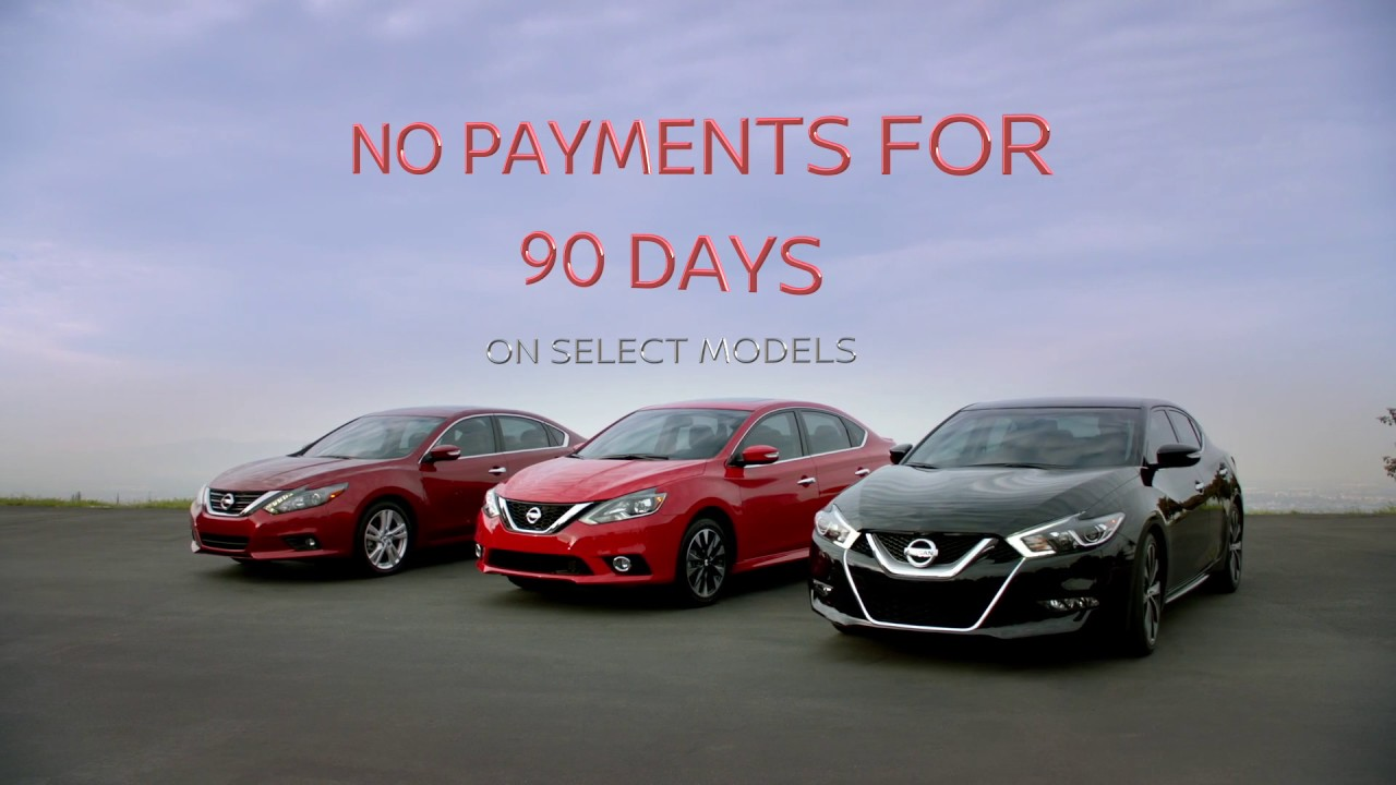 NO Payments For 90 Days ONLY At Crowley Nissan Bristol, CT
