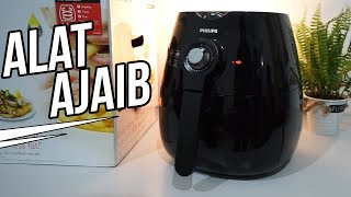 Review Alat Menggoreng Tanpa Minyak: Philips Air Fryer HD 9220