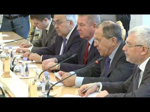 С.Лавров и М.Д.Зариф | Sergey Lavrov & Mohammad Javad Zarif