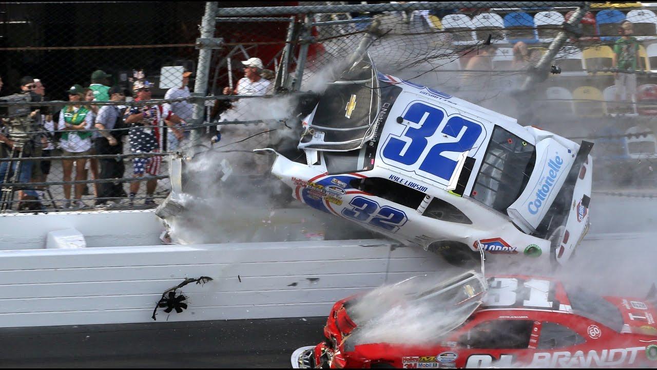 Car Wrecks Wallpaper Best Nascar Crashes In History Youtube