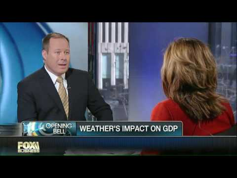 Todd Schoenberger and Maria Bartiromo discuss Weather's impact on the economy