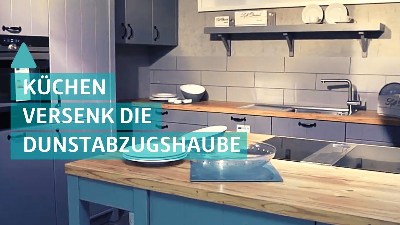 Moderne Kuche Geruchlos Und Sauber Downdraft Und Muldenlufter Youtube
