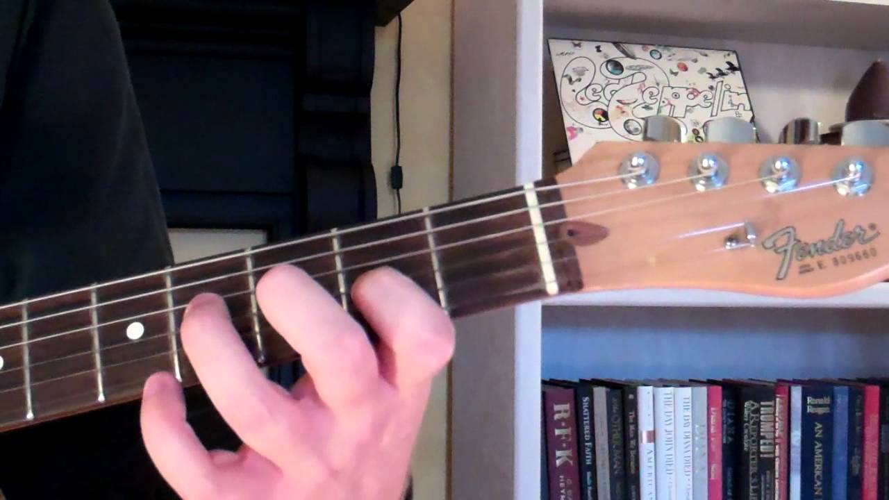 How To Play The A69 Chord On Guitar A Six Nine Or A Major Sixth