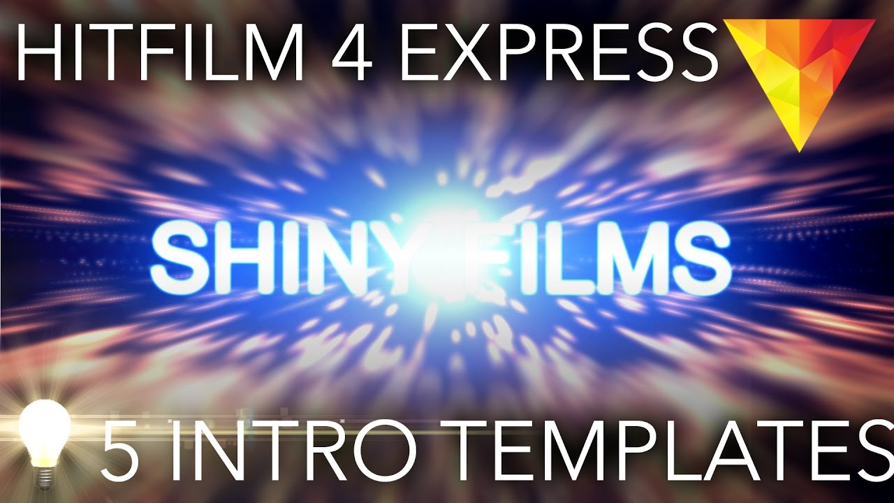 5 FREE Intro Templates for Hitfilm 4 Express - Download and Tutorial ...
