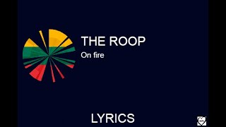 THE ROOP-ON FIRE(LYRICS)(Lithuania in Eurovision 2020)