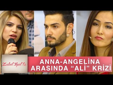 Zuhal Topal'la 128. Bölüm (HD) | Anna - Angelina Arasında 'Ali' Gerginliği!