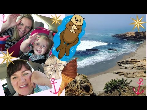 Vlog- Last Days in California: Family, Beaches & Otters