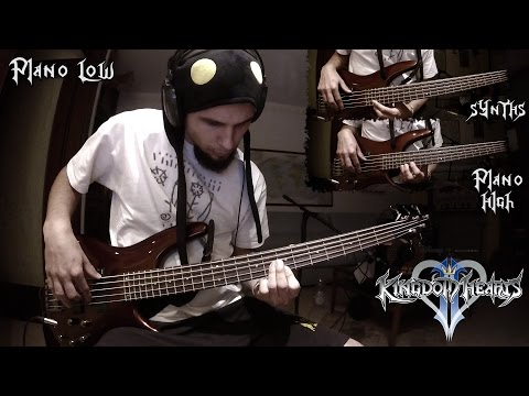 Dearly Beloved Bass Cover - Kingdom Hearts 2 OST (Menu Theme)