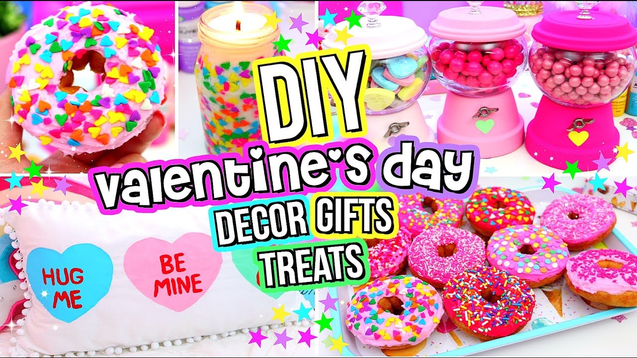 Diy Valentine S Day Gifts Treats And Room Decor Valentine S Day
