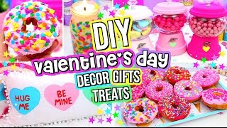 DIY Valentine's Day GIFTS, TREATS and ROOM DECOR 2017!
