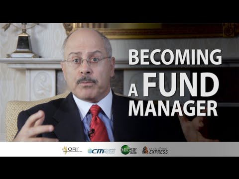 For Those Who Want to Be A Fund Manager