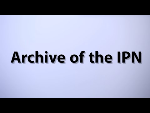 IPNtv: Archive of the Institute of National Remembrance