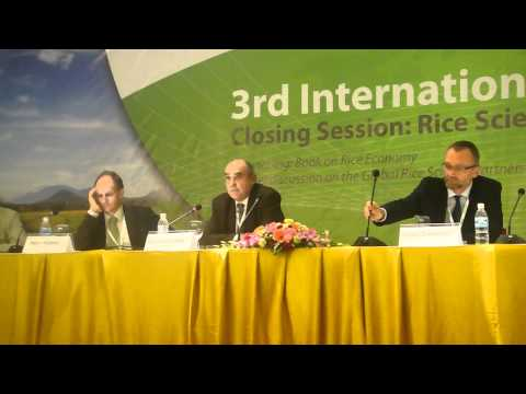 3. Global Rice Science Partnership (GRiSP) discussed at International Rice Congress