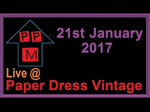 PPM Live @ Paper Dress Vintage 21st January 2017