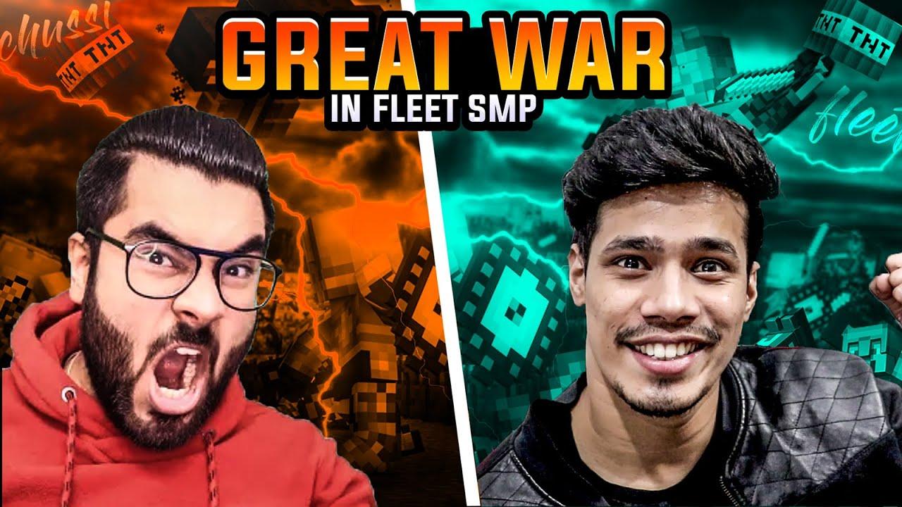 Download The Great War of Fleet SMP