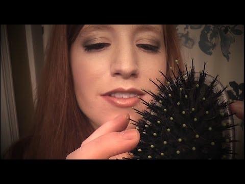 Binaural Hair Brushing and Washing