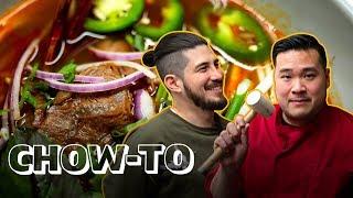 How to Make BUN BO HUE Vietnamese Soup (Move Over Pho!)  CHOW-TO