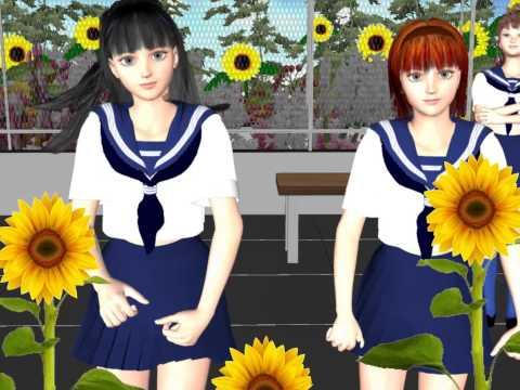 日本の夏の少女たち1(Japanese summer girls 1)