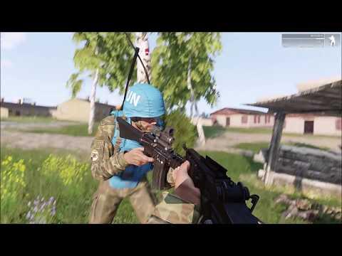 UN coastel patrol - Arma 3