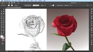 How to Use the Gradient Mesh Tool in Illustrator CC /  SPEEDART /