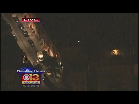 Police Searching For Suspect After Officer Shot In West Baltimore