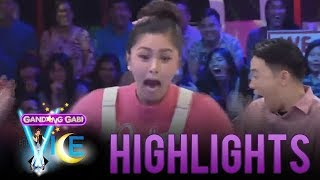 GGV: Kim Chiu runs and hides in fright