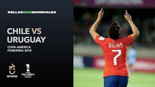 Chile 1 - 0 Uruguay   Copa América Femenina 2018