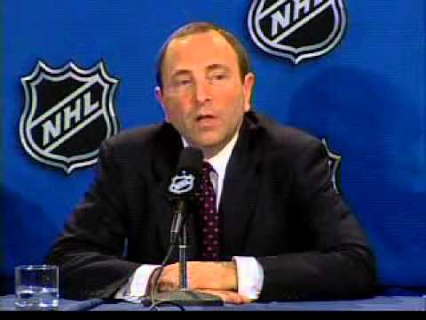NHL CBA Press Conference (7-13-05)