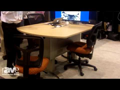 InfoComm 2015: Spectrum Furniture Talks About the InVision Access Collaboration Table