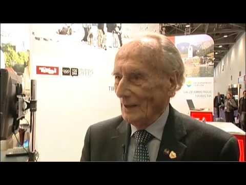 Prof Heinz EW Simonitsch, Grand Hotel, Leinz, Austria @ WTM 2010