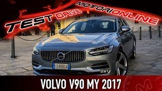 Volvo V90 MY 2017 | Test Drive in Anteprima