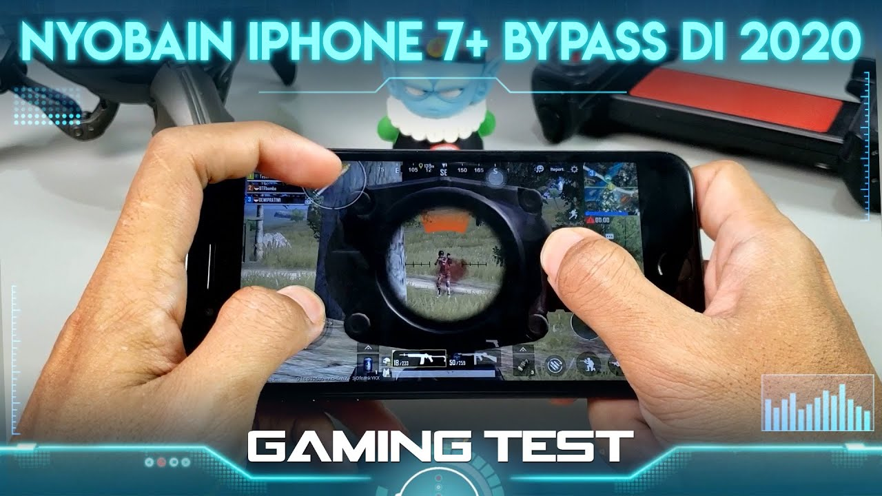Gaming Test iPhone 7 Plus Bypass PUBG mobile Indonesia