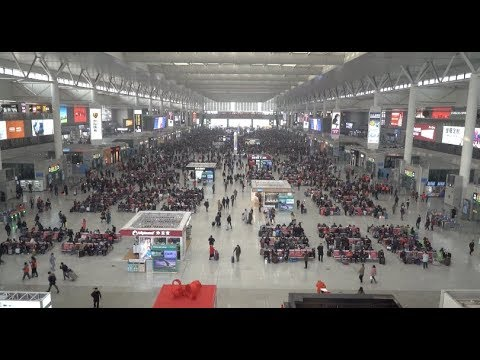 Shanghai Railway Stations to Handle 490,000 Arrivals as Spring Festival Holiday Ends
