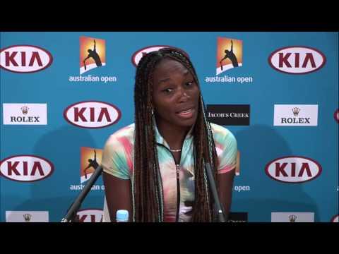 Venus Williams Press Conference - Australian Open 2013