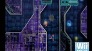 Evasive Space (WiiWare) - 10 Min. Gameplay - Wii Minute Radio