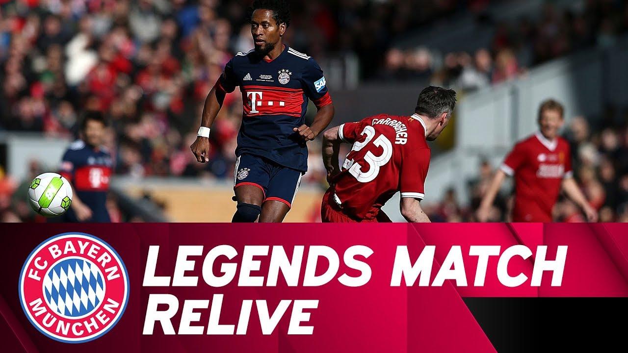Fc Liverpool Legends Vs Fc Bayern Legends Full Game Youtube