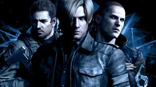 Resident Evil 6 with Japanese Voices: Leon Kennedy Cutscenes